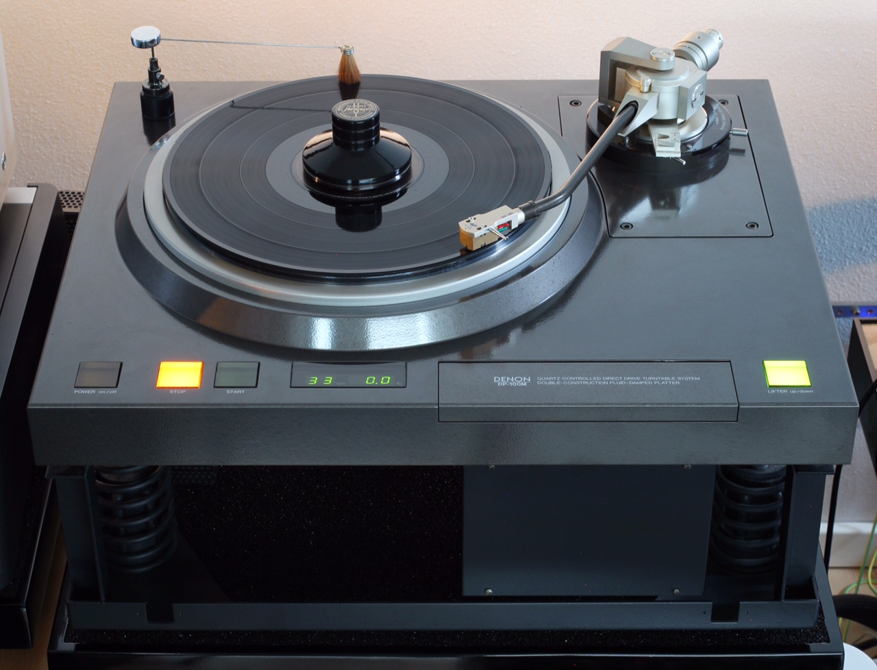BEST vintage tocadiscos . Cuáles fueron A++++ Denon-100